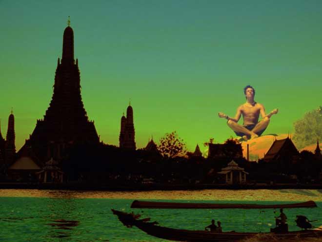 meditation in Bangkok