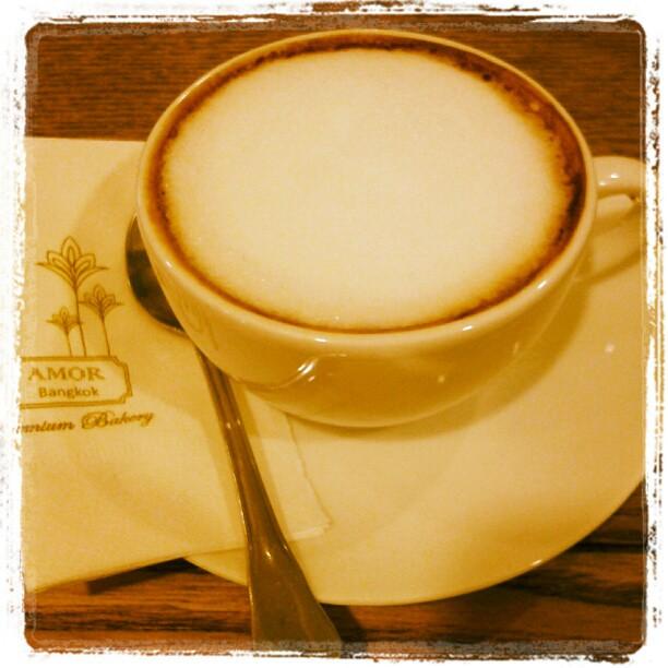 Hot Chocolate at Amor Bangkok