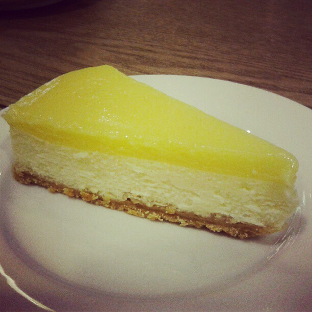 Lemon Cheese Cake by Amor Bangkok