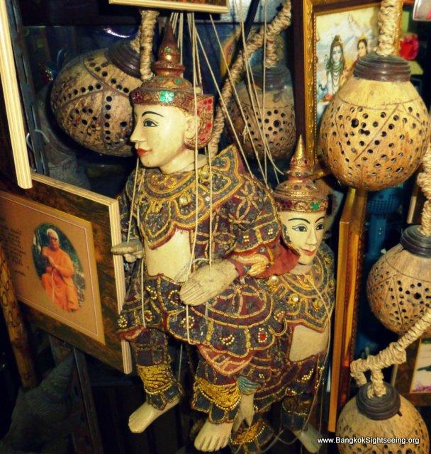 Puppet Bangkok Market